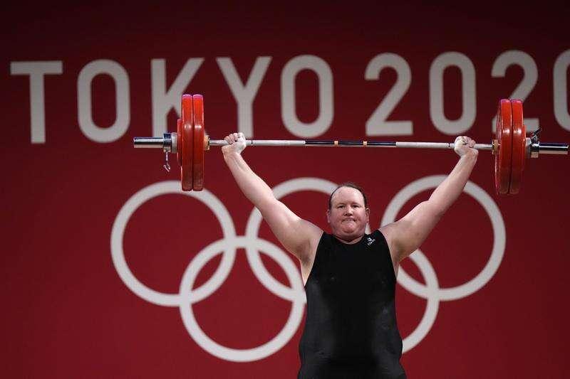 Transgender weightlifter Hubbard makes history at Olympics ...